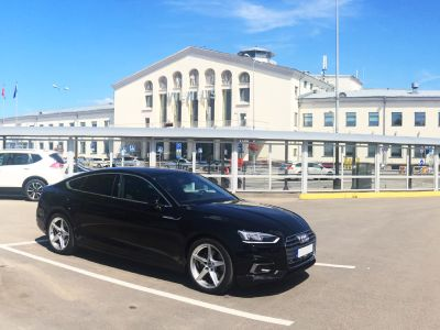 a5 sportback rent with driver